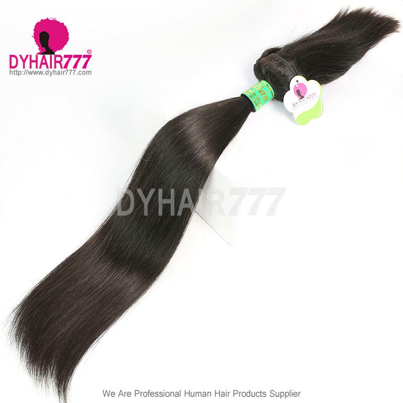 Standard Brazilian Virgin Hair 1 Bundle Braid In Bundles Straight