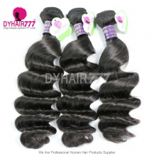 3 or 4 Bundle Deals Peruvian Standard Virgin Hair Loose Wave Cheap Human Hair Extensions