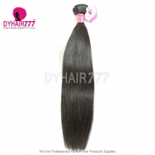 Straight Malaysian Royal Virgin Hair No Tangle No Shedding 1 Bundle Top Quality