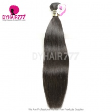 European Royal Straight Hair Weaves 1 Bundle Cheap Virgin Hair Extensions