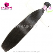 1PC High Quality Thick Standard Mongolian Virgin Straight Hair