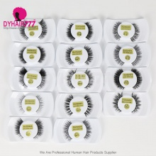 100% Mink Hair Makeup Black Eyelash (leave message for the style number,  or by random)