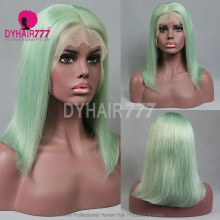 Full Lace Wig 130% Density Human Hair Customize Wig 7 Working Days Ready QGST41-F