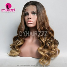 Lace Front Wig 130% Density Human Hair Customize Wig 5 Working Days Ready BZL15-L