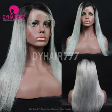 Full Lace Wig 130% Density Human Hair Customize Wig 7 Working Days Ready BGST35-F
