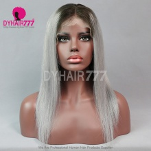 Lace Front Wig 130% Density Human Hair Customize Wig 7 Working Days Ready CSTG34-L