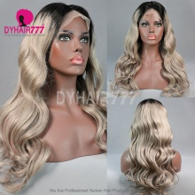 Full Lace Wig 150% Density Human Hair Customize Wig 7 Working Days Ready LWGC22-F