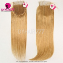 Color 520 Lace Top Closure (4*4) Straight Hair Human Virgin Hair