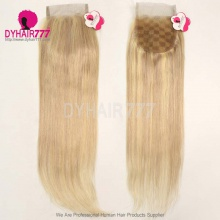 Color P18/613 Lace Top Closure (4*4) Straight Hair Human Virgin Hair