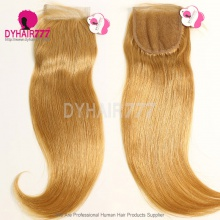 Color 27 Lace Top Closure (4*4) Straight Hair Human Virgin Hair