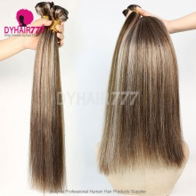 1 Bundles P4/18 Straight Brazilian Hair 100% Virgin Human Hair