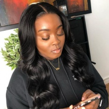 Stylist Wig As Picture 7Days to Ready 100% Virgin Human Hair Big Wavy Natural Color