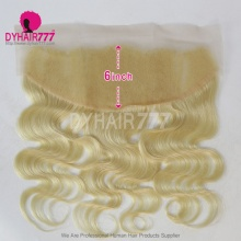 #613 Blonde Frontal 13*6 Lace Frontal Closure Virgin Human Hair