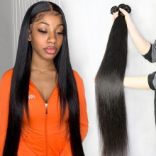 3 or 4pcs/lot Bundle Deals Royal European Straight Virgin Hair Weaves 100% Human Hair Extensions