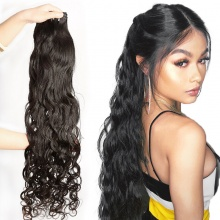 3 or 4 pcs/lot Blunde Deals Cheap Brazilian Standard Natural Wave Virgin Hair Extensions